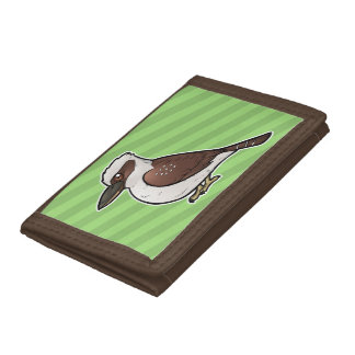 Laughing Kookaburra Trifold Wallet