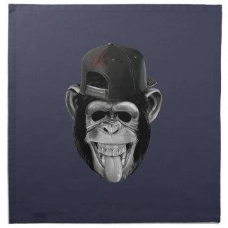 Laughing Monkey Napkin