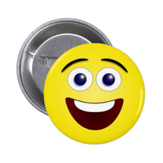 Laughing Smiley 3D Button