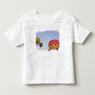Launching hot air balloons 3 toddler T-Shirt