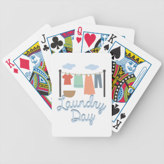 Laundry Day Playing Cards
