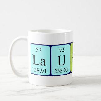 Laurence periodic table name mug