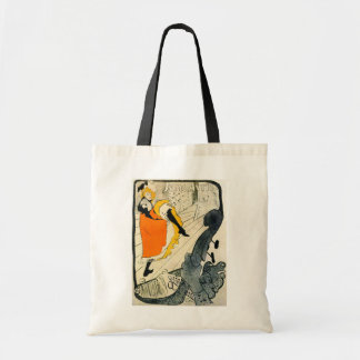 Lautrec: Jane Avril Dancing the Can-Can Tote Bag
