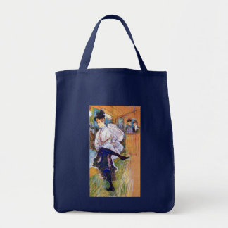 Lautrec: Jane Avril Dancing Tote Bag