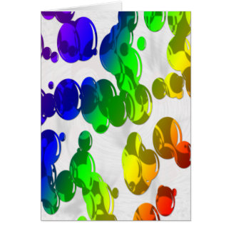 lava lamp card