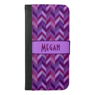 Lavender and Maroon Chevrons Customisable
