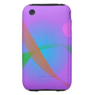 Lavender Bird iPhone 3 Tough Covers
