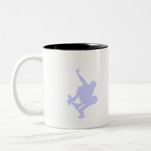 Lavender Blue Skater Coffee Mug