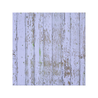 Lavender Faux Wood Texture Gallery Wrap Canvas
