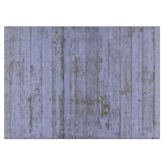 Lavender Faux Wood Texture Cutting Board
