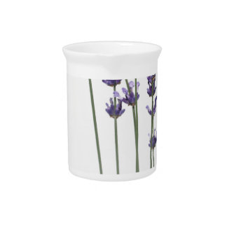 lavender flowers pitcher