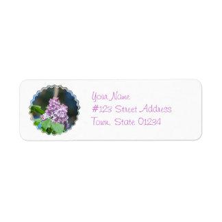 Lavender Lilacs Mailing Labels