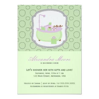 tub invitations announcements. Black Bedroom Furniture Sets. Home Design Ideas