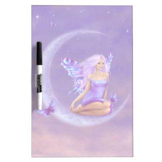 Lavender Moon Butterfly Fairy Dry Erase Board