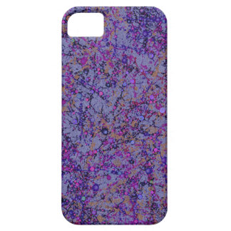 Lavender Paint Splatter Abstract iPhone 5 Cover