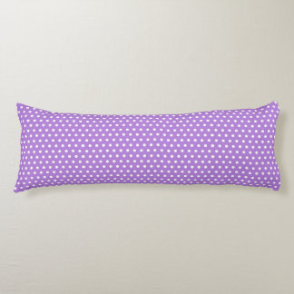 Lavender Polka Dots Body Cushion