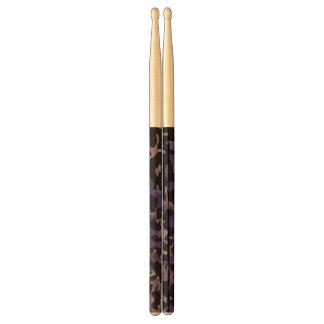 Lavender Purple Cheetah Abstract Drumsticks