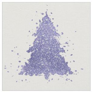 Lavender Purple Christmas Tree Lilac Shabby Chic Fabric