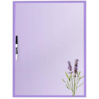Lavender Purple Dry Erase Board
