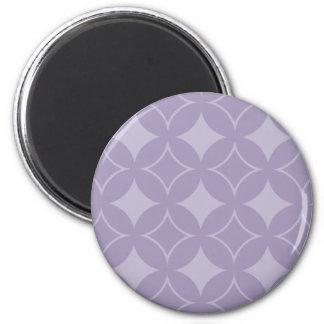 Lavender shippo pattern magnet