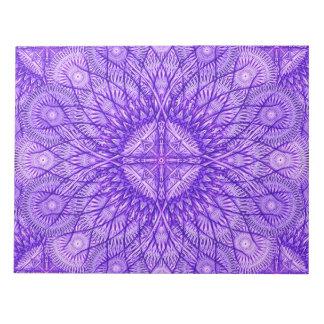 Lavender Star Mandala Notepad