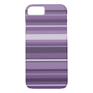 Lavender stripes iPhone 8/7 case
