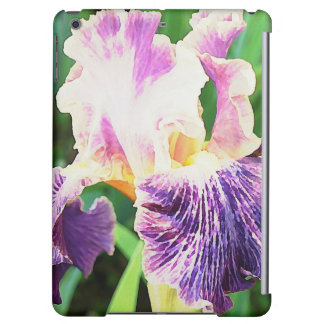 Lavender, Violet, Purple Iris Girly iPad Air Covers