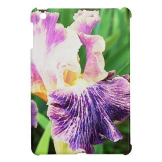 Lavender, Violet, Purple Iris Girly Case For The iPad Mini