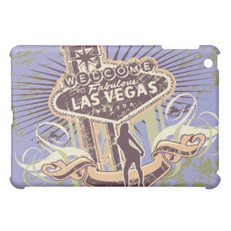 Lavender Welcome to Las Vegas  iPad Mini Cover