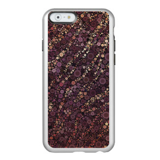 Lavender Zebra Abstract Pattern Incipio Feather® Shine iPhone 6 Case