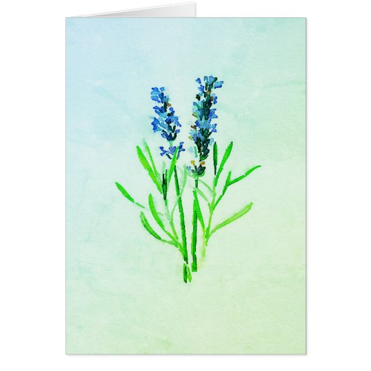 Lavender's Blue Dilly Dilly Card