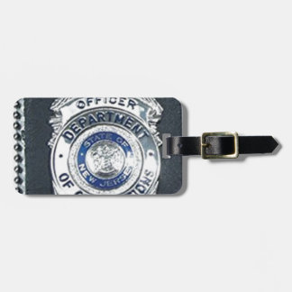 Law enforcement agencies products luggage tag