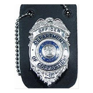 Law enforcement agencies products postcard