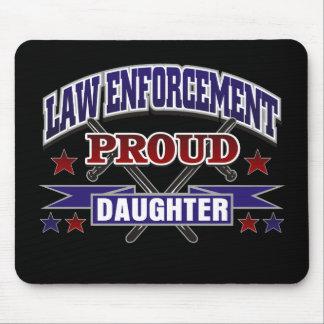 Law Enforcement Proud Daughter Mouse Pad