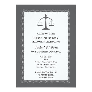 Law School Attorney Graduation Announcements