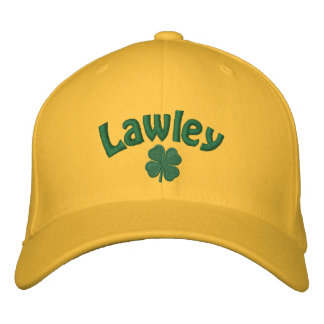 Lawley - Four Leaf Clover Embroidered Hats