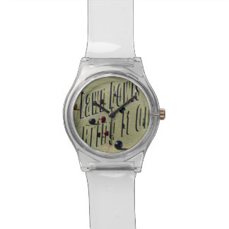 Lawn Bowls, Bring It On, Ladies White May Watch. Wristwatch