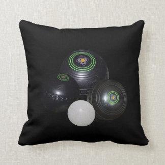 Lawn_Bowls,_ Throw Pillow