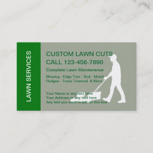 410 lawn mowing service business cards and lawn mowing service lawn mowing services business card reheart Gallery