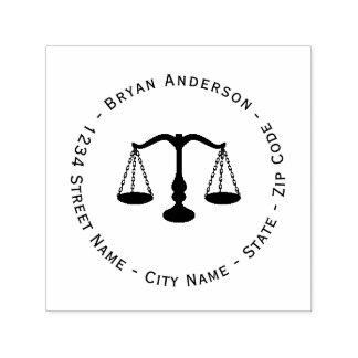 Lawyer Attorney Return Address Self-inking Stamp