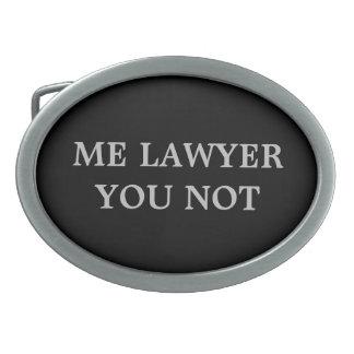 Lawyer Belt Buckle