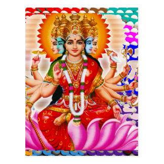 LAXMI - Goddess of Wealth Postcard