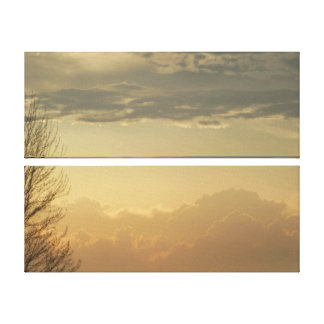Layer Skies Canvas Print