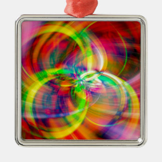 Layered Swirls Christmas Ornament