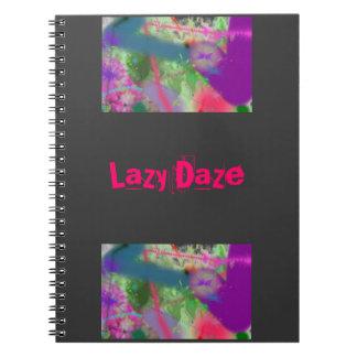 lazy daze notebook