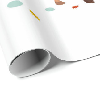 Lazy tenants wrapping paper