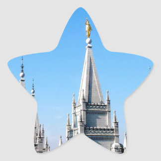 lds salt lake city temple angel moroni star stickers