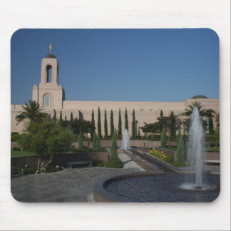LDS Temple - Newport Beach, CA Mouse Pad