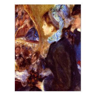 Le Cafe Concert by Pierre Renoir Postcard