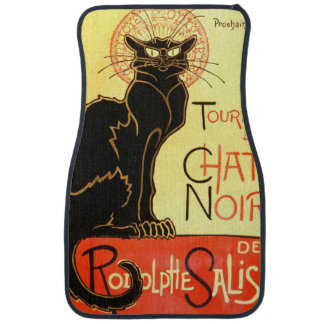 Le chat noir,Original billboard Car Mat